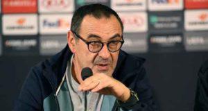 Juventus announced Maurizio Sarri